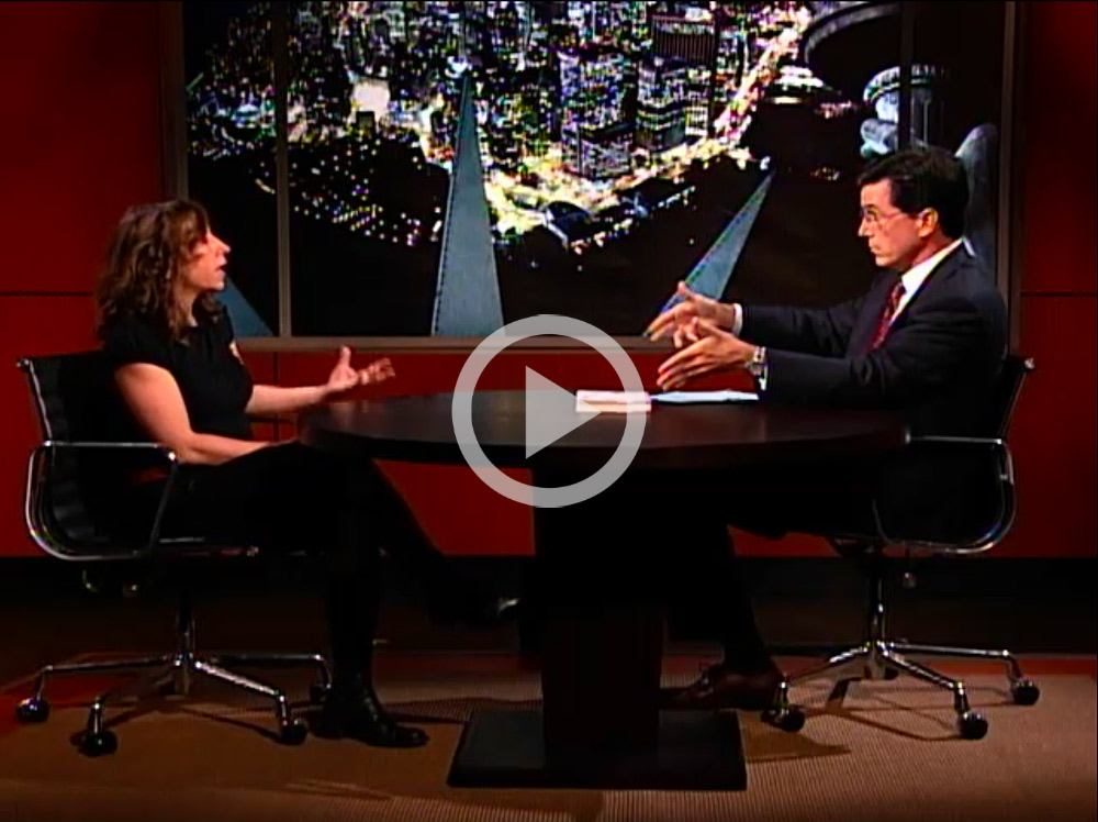 Janna Levin on the Colbert Report